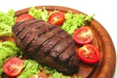 烤的牛肉肉供食了牛排 图库摄影