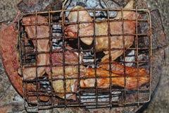 烤的牛肉 库存图片