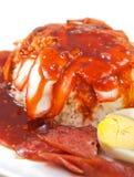 烤的猪肉米 免版税库存照片