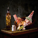 烤的羊羔 免版税图库摄影