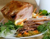 烤的肉 免版税图库摄影