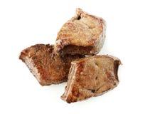 烤的肝脏 免版税库存照片