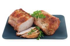 烤的腰部猪肉 库存图片