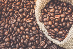 烤的豆咖啡 库存照片