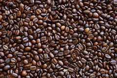 烤的豆咖啡 免版税库存图片
