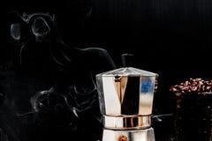 烤的豆咖啡 免版税库存照片
