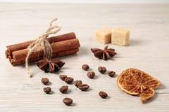 烤的豆咖啡 免版税图库摄影