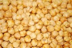 烤的豌豆 免版税库存图片