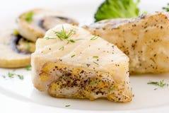 烤的鱼 免版税库存图片