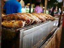 烤的鱼 免版税库存照片