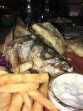烤的鱼 库存照片