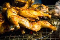 烤的鸡可口 免版税库存图片