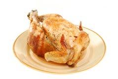烤的鸡 库存照片
