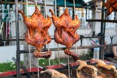 烤的鸭子 免版税库存照片
