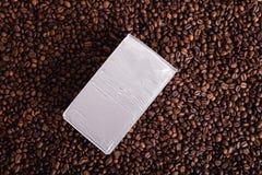 烤的Coffe豆,好的纹理 库存图片