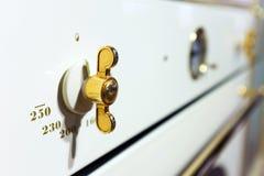 烤箱控制 免版税图库摄影