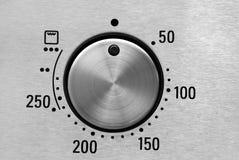 烤箱温度 免版税库存照片