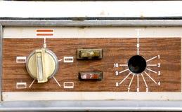 烤箱瘤,控制 免版税图库摄影