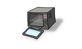 烤箱 免版税图库摄影