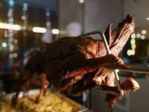 烤羊肉 免版税库存图片