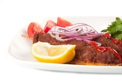 烤肉串 免版税库存图片