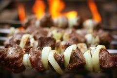 烤肉串 免版税库存照片