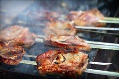 烤肉串 库存图片