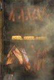 烤肉吸烟者 图库摄影