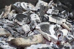 烤肉壁炉木炭 库存照片