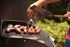 烤肉夏天 库存图片