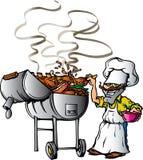 烤肉得克萨斯 免版税库存照片