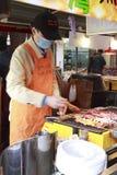 烤肉摊位 库存照片