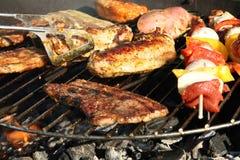 烤肉格栅 库存照片