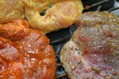 烤肉格栅 免版税库存图片