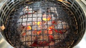 烤肉火炉 图库摄影