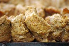 烤肉用卤汁泡的猪肉 图库摄影