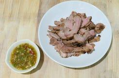烤肉用调味汁 库存照片