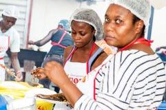 烤肉节日在阿比将 免版税库存照片