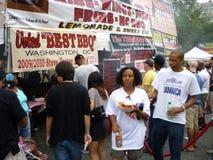 烤肉节日食物 免版税库存照片