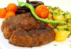 烤肉装饰热 库存图片