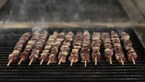 烤肉食物 免版税库存图片