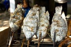 烤肉鱼 图库摄影
