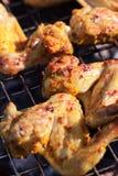 烤肉鸡 免版税库存图片