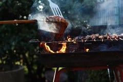 烤肉 库存图片