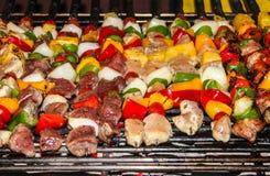 烤肉 库存照片
