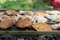 烤肉 图库摄影