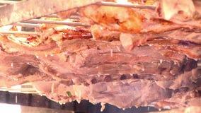 烤肉 股票视频