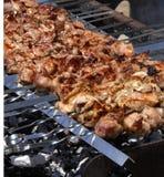 烤肉shish 免版税图库摄影