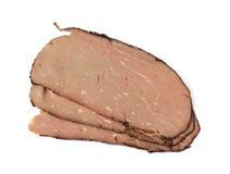 烤肋条肉片式 免版税库存图片
