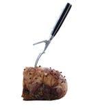 烤肋条肉 免版税图库摄影